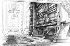 Blade Runner (1982) - Concept art by Syd Mead