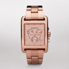Sale    Davenport Rose Chronograph Watch Wearing rose gold is a chic and feminine way to be on-trend this season. This watch boasts a rose-plated stainless steel bracelet strap and a square rose stainless steel face with chronograph features.