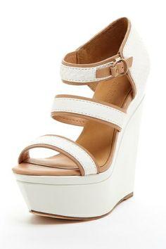 L.A.M.B. Inesa Platform Wedge Design works No.898 |2013 Fashion High Heels|