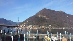 Monte Isola, Lago d'Iseo visto da Sulzano