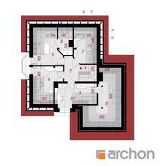 Projekt domu Dom w rukoli (G2) - ARCHON+ House Plans, Floor Plans, How To Plan, Home Decor, Website, American Houses, Decoration Home, House Plans Design, Room Decor