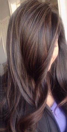 New Hair Color Ideas For Brunettes Babylights Balayage Hairstyles Ideas Hair Color And Cut, Brown Hair Colors, Ombré Hair, New Hair, Hight Light, Brunette Hair, Babylights Brunette, Brunette Fall Hair Color, Hair Affair