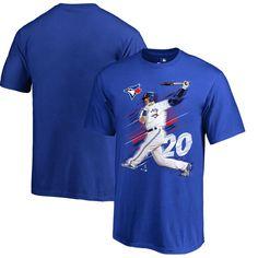 Josh Donaldson Toronto Blue Jays Fanatics Branded Youth Fade Away T-Shirt - Royal