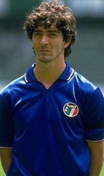 Paulo Rossi - Italian Team 1982