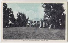 Pavillion at Bartlett Park St. Joseph Mo - http://ilovestjosephmo.com/bartlett-park-st-joseph-mo