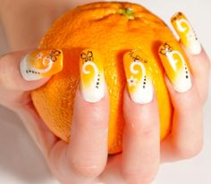 Summer Nail Designs in Brave Colors