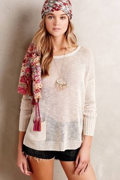 Rosie Tupper, scarf