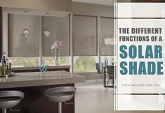 Different Benefits of Installing Graber Solar Shades Door Window Treatments, Window Coverings, Horizontal Blinds, Cellular Shades, Faux Wood Blinds, Solar Shades, Sliding Glass Door, Windows And Doors, Home Improvement