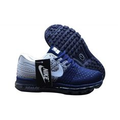 sports shoes 6dc38 dff19 Nike Air Max 2017 - Nuevo Zapatillas Nike Air Max 2017 Flyknit Hombre Azul  Gris Baratas. ggdb sneakers online