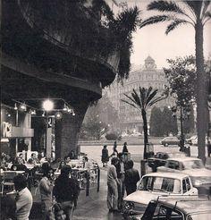 Barcelona, La Oca plaça Francesc Macià 1976.