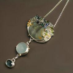 Morrison Ranch Jasper Aqua and Indicolite by fussjewelry on Etsy, $588.00