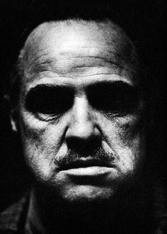 Marlon Brando as Vito Corleone, The Godfather, 1972