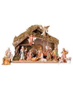 Christmas BrylaneHome 56 H Ropee Light Nativity Scene