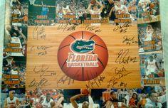 Florida Gators Men's Basketball 2013-14 Team Autographed 16x20 Photo