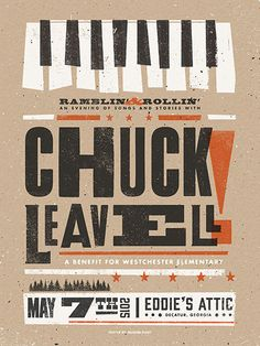 Chuck Leavell by Modern Giant Design