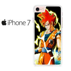 Dragon Ball Z Super Saiyan Goku Iphone 7 Case