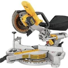 DEWALT Max Single Bevel Sliding Compound Cordless Miter Saw at Lowe's. The MAX sliding miter saw features an adjustment free cut line indication for better accuracy and visibility. Sliding Mitre Saw, Sliding Compound Miter Saw, Compound Mitre Saw, Woodworking Jigs, Woodworking Projects, Woodworking Equipment, Woodworking Classes, Welding Projects, Unique Woodworking