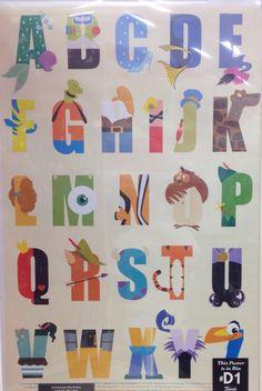 Disney Alphabet!! ❤️