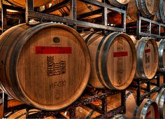 Creekside Estate Winery - barrels
