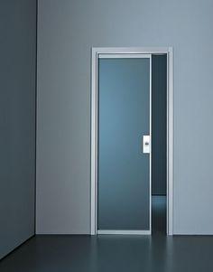 Glass pocket door - PLANUS by Antonio Citterio - ArchiExpo  second story to deck