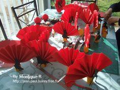 Déco de table soirée paella - Les 3B .