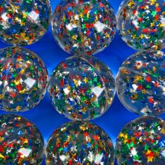 60mm Star Ball (Bulk Pack Of 12 Balls) at theBIGzoo.com