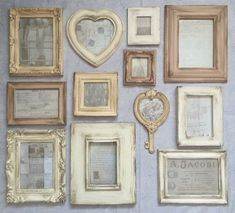 French Style Cream Shades Aged Photo Frames Vintage Pictures Shabby Chic in Home, Furniture & DIY, Home Decor, Photo & Picture Frames Shabby Chic Bedrooms, Shabby Chic Homes, Shabby Chic Style, Shabby Chic Furniture, Shabby Chic Decor, Rustic Decor, Country Furniture, Garden Furniture, Wood Furniture