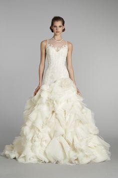 Lazaro Bridal Fall 2012