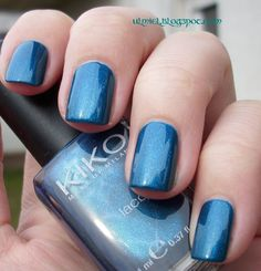Kiko #300 #nailpolish #kiko #blue