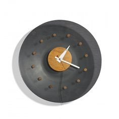 George Nelson & Associates,# 2204B Wall Clock for Howard Miller, 1952.