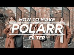💫 how to make polarr filters | kiwiiedits - YouTube