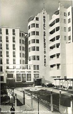 Once Upon A Time in Bucharest: Hotel Splendid Art Nouveau, Art Deco, Bucharest Romania, Old City, Motel, Once Upon A Time, Time Travel, 1950s, Multi Story Building