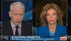 Fight!: Anderson Cooper Humiliates Wasserman-Schultz For Lying About Contents Of L.A. Times Akin/Romney Article
