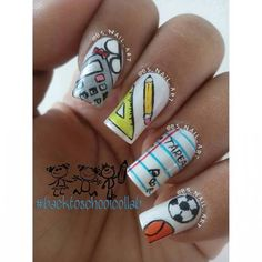 Back To School Nails