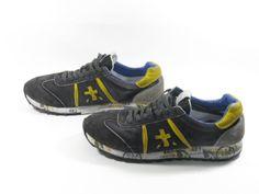 Premiata Sneaker LUCY 713 Blue/Yellow