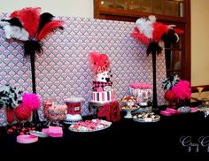 "Birthday ""Hot Pink Glamorous Casino Party"" 