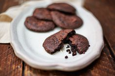 Dairy Free and Gluten Free Chocolate Avocado Cookies!