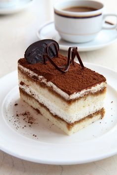 Tiramisu Cake Let me see now what about this Tiramisu cake? It's a nice recipe that anyone can make it, I've try it and it's really good. That's why I even put it on my list.
