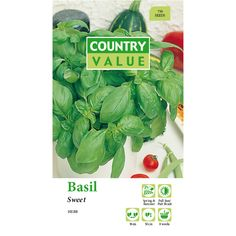 Find Country Value Sweet Genovase Basil Seeds at Bunnings Warehouse. Visit your local store for the widest range of garden products.