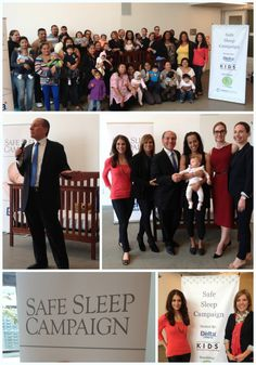 Photos from DeltaChildren crib donation to Baby Buggy and CII