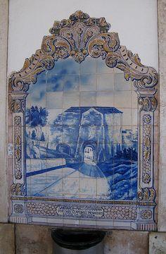 Painel de Azulejos: Arco D'Atamarma, Santarém - Santarém | Flickr – Compartilhamento de fotos!