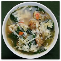 Italian Wedding Soup My Favorite Food To Bring A Sick Friend