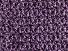 crochet stitch - grit. Good for a washcloth.