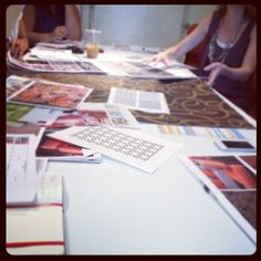 @R_AllenDesign finalizing our 2013 collection today was so inspiring!