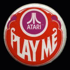 "Atari ""Play Me"" Pin"