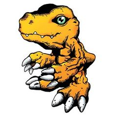 Agumon - Rookie level Reptile digimon