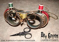 SGL The Whole 9 Yards Goggles by Doctor Grymm, via Flickr