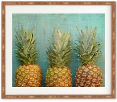 Deny Designs Olivia St Claire Tropical Bamboo Framed Wall Art