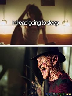 andthatswhoIam And That's Who I am parody dread going to sleep nightmares Freddy Krueger Wes Craven A nightmare on elm street horror movie funny Just Girly Things, Girly Things and Justgirlythings Parody