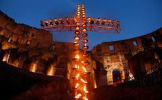 pope john paul ii stations of the cross COLOSSEUM - Google Search